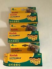 11 Rolls Kodak Ultramax 800 Color 35mm Film 24 exposures cold stor Exp. 121/2013