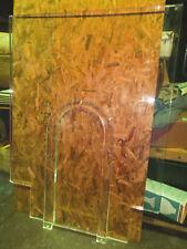 """Bullet Proof Acrylic Teller Window Set 52 3/4""""W x 70 1/4""""H Bulletproof Glass 00000569"""