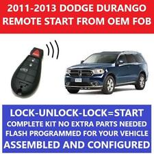 Plug & Play Remote Starter Fits 2011-2013 Dodge DURANGO