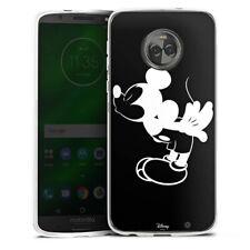 Lenovo MOTO g6 PLUS IN SILICONE GUSCIO Case Cellulare-Mickey Kissing