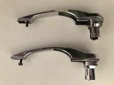 porsche 911 912 930 exterior door handles CHROME L R PAIR 68-74