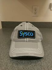 Sysco Food Service Embroidered Distressed Trucker Hat Cap America Mesh Back NWOT