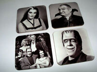 The Munsters New BW COASTER Set
