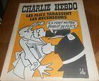 CHARLIE HEBDO..N°224 de 1975 /.LES FLICS TABASSENT RESCENSEUR.Couverture de GEBE