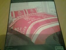 KEEP CALM AND SNOOZE KING SIZE DUVET COVER SET INCLUDING PILLOWCASES NEW