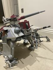 More details for star wars - clone at-te walker, av-7 anti vehicle canon & troops