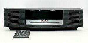 Bose Wave Radio Music System with Remote Black AM/FM Alarm CD