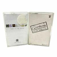 Genesis Audio Music Cassette Tape Bundle Turn it on Again Three Sides Live