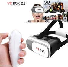 VR BOX OCCHIALI REALTA' VIRTUALE 3D GIOCHI FILM 360° CON CONTROLLER BLUETOOTH SC