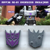 Metal Decepticon Logo Symbol for Weijiang MPP36 NE01 Oversized Megatron in stock