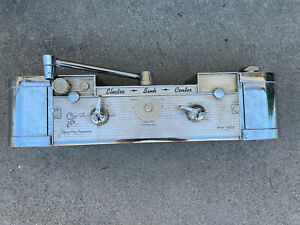 Vintage  60's Electro Sink Center Kitchen appliance unit faucet retro chrome
