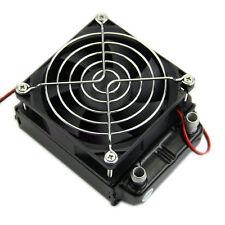 80mm Aluminum Water Cooling Cooler Computer Fans Radiator For CPU LED Heatsink