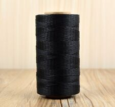 260m Cord Waxed Thread Wax Bracelet Jewelry Linen Spool Leather Craft Sewing