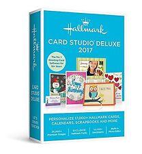 Hallmark Card Studio Deluxe 2017 DVD FAST POSTAGE