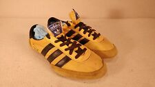 Vintage Adidas Apollo Running Spikes Shoes - Rare Kill Bill Black/Yellow - Sz. 4