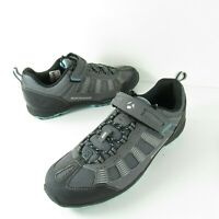 Bontrager SSR Inform Cycling Shoes Gray Mountain Bike Clip In MTB 42 Women 10.5