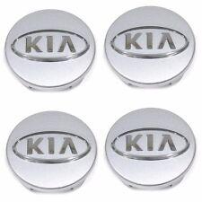 Kia Logo Wheel Center Hub Cap 4p for 2008-10 Optima Forte Sportage OEM Parts