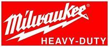 MILWAUKEE TOOLS DECAL STICKER 3M VINYL USA TOOLBOX VEHICLE TRUCK WINDOW WALL CAR