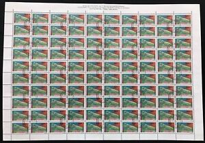 BULGARIA 1992 INSECTS Mantes 50L + 3L CTO 2x Used Sheets of 100 [D884]