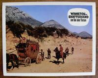 Original Karl-May Kino Aushangfoto Winnetou und Old Shatterhand im Tal der Toten