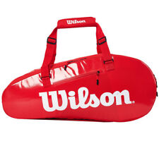 Wilson 2019 Super Tour Ii Comp 9Pk Red Tennis Badminton Bag Backpack Wrz-840809