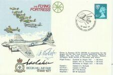 More details for 1977 flying fortress cover, originally signed by james doolittle & ira eaker!
