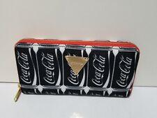 Joyrich Coca Cola Gold Zipper Wallet