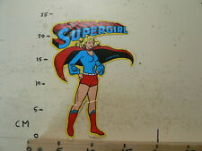 STICKER,DECAL LARGE STICKER  SUPERGIRL DC COMICS INC 1978 LARGE STICKER