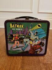 Rare Antique Batman & Robin Metal Lunchbox~1966~Aladdin