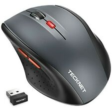 Wireless Mouse TeckNet optical Gaming 2.4Ghz 2400DPI Ergonomic Multi Buttons