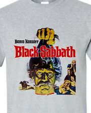 Black Sabbath T-shirt Boris Karloff retro vintage horrori movie gray Distressed