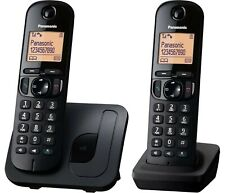 Panasonic KX-TGC 212EB Twin Digital Cordless Home Phones 2 Handsets