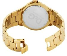 D&G New Anchor  DW0661 Stainless Steel Watch Strap Gold Tone