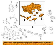 Chevrolet GM OEM 14-16 Impala Passenger Seat-Cushion Frame 13580923