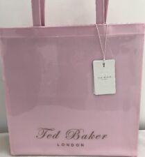 Ted Baker Plain Icon Bag Large Shopper 100% Genuine Pale Pink