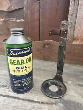 More details for rare duckhams gear oil can with original bracket morris ford riley austin c1930s