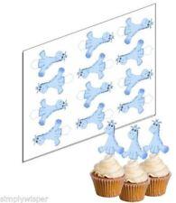 Articles de maison bleus cupcakes pour fête et occasion spéciale