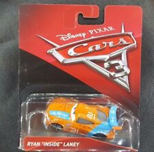 """CARS 3 - RYAN """"INSIDE"""" LANEY racer BLINKR TEAM -  Mattel Disney Pixar"""