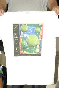 1997 US OPEN Tennis t shirt 2xl vintage Flushing Meadows ATP very rare clean