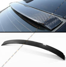 2007-2013 E92 COUPE SPORT BLACK REAL CARBON FIBER REAR WINDOW ROOF SPOILER WING