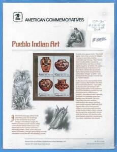 USPS Commémorative Panneau #75 Pueblo Art #1706-9
