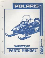 1992 POLARIS SNOWMOBILE WIDETRAK  PARTS MANUAL 9912130 (129)