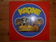 Zirkus Krone Programmheft 1978 -eine absolute Rarität!