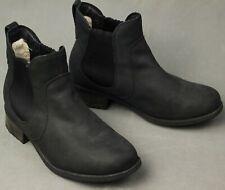 UGG AUSTRALIA Sheepskin Lined ANKLE CHELSEA BOOTS - Size EU 40 - UK 7.5 - UGGS