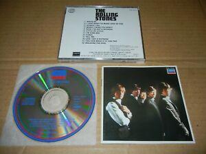 """The Rolling Stones """"S/T"""" UK 1st MONO Japan CD P33L-25014 3300Yen"""