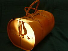 Leather duffle / weekender bag