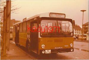 K79) orig. Foto Bus, MAGIRUS  IVECO Recklinghausen VEST. RE-XY 143. Hauptbahnhof