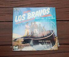 "SPAIN'S LOS BRAVOS RARE COVER MEXICAN VINYL LP 7"" MEXICO 1968 LONDON EPP-1057"