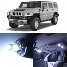 13 x White LED Interior Light Package For 2003 - 2009 Hummer H2 + PRY TOOL