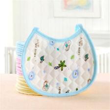 1PC Lovely Newborn Baby Bibs Waterproof Saliva Towel Feeding Bandana Ah